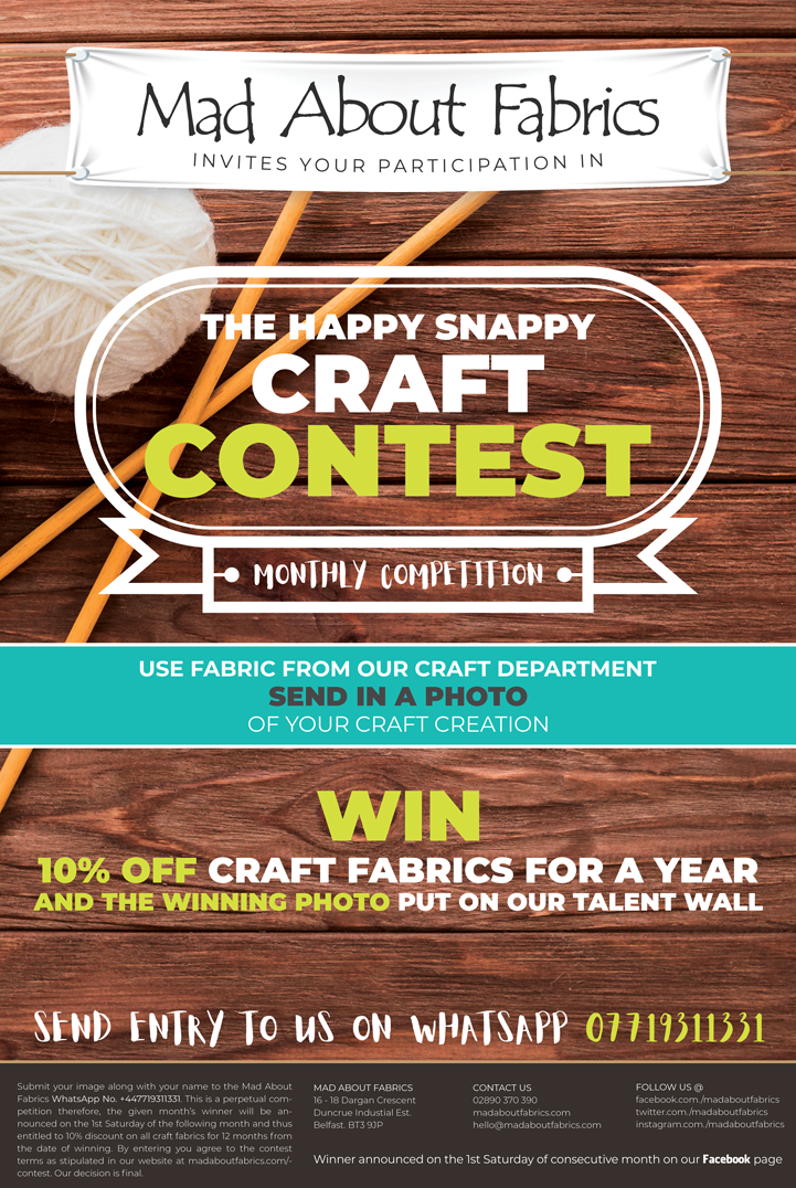 Craft-Contest-Flyer-Mad-About-Fabrics