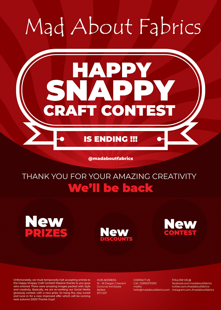 The_Happy_Snappy_Craft_Contest_Ending_Notice